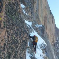 A section of the 1000ft Traverse.